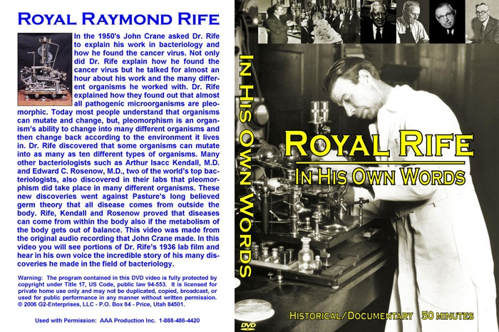 Rife-DVD-Cover-In-His-Own-Words